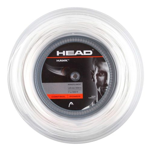 HEAD Hawk String Reel 200m - White