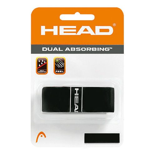 HEAD Dual Absorbing 1 Pack - Black