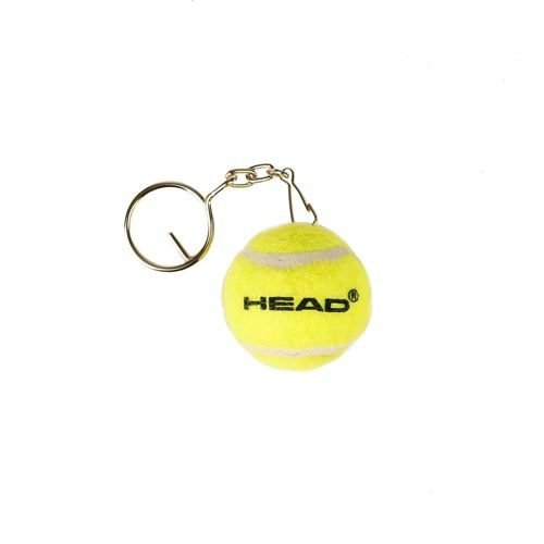 HEAD Mini Keychain Key Ring Tennis Ball - Yellow