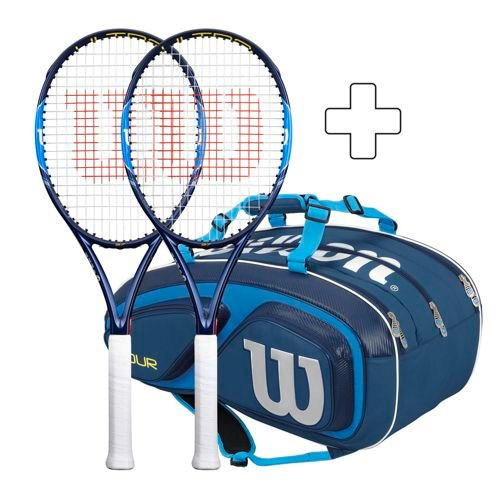 Wilson 2 X Ultra 97 Plus Tennis Bag