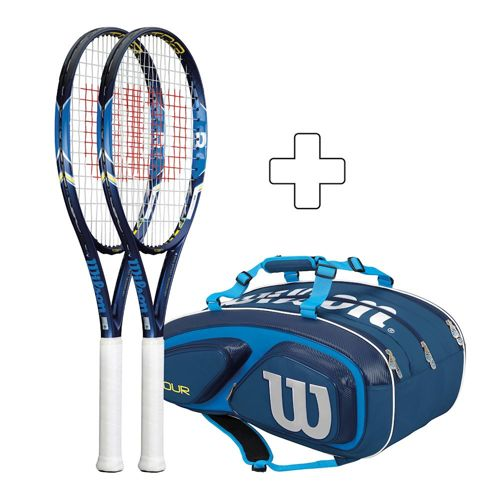 Wilson 2 X Ultra 103S Plus Tennis Bag