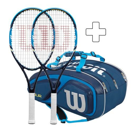 Wilson 2 X Ultra 108 Plus Tennis Bag