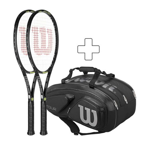 Wilson 2 X Blade 93 Exklusiv Plus Tennis Bag
