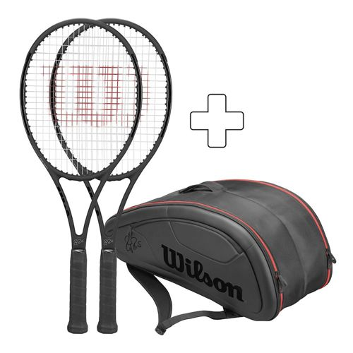 Wilson 2 X Pro Staff RF97 (Autograph) 2016 Plus Tennis Bag