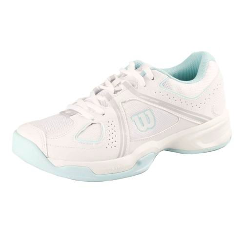 Wilson Nvision Envy All Court Shoe Women - White, Light Blue