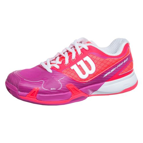 Wilson Rush Pro 2.0 Clay Court Clay Court Shoe Women - Red, Pink
