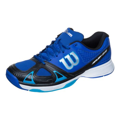 Wilson Rush Evo All Court Shoe Men - Blue, Black