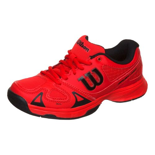 Wilson Rush Pro All Court Shoe Kids - Red