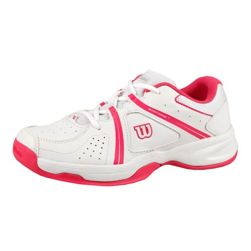 Wilson Envy All Court Shoe Kids - White, Pink