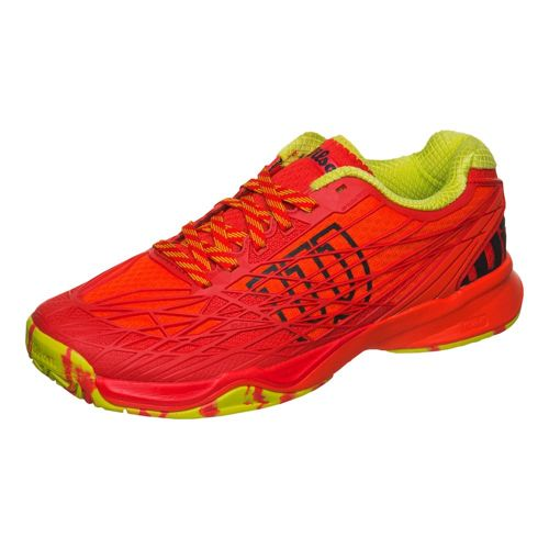 Wilson Kaos Allcourt All Court Shoe Men - Red, Neon Green