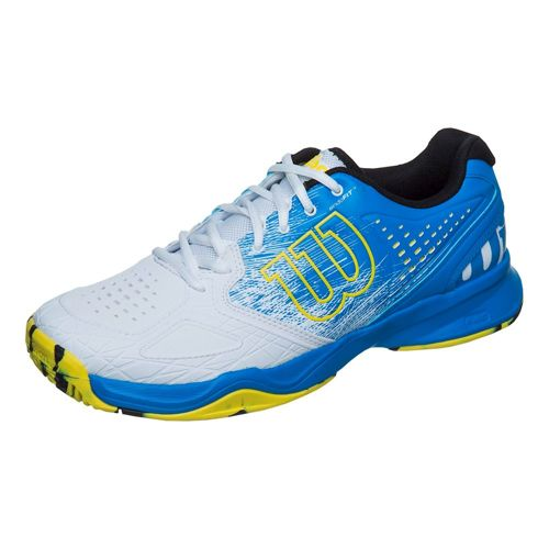 Wilson Kaos Comp All Court Shoe Men - Blue, White