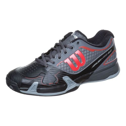 Wilson Rush Pro 2.0 Clay Clay Court Shoe Men - Black, Grey