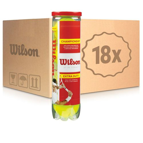 Wilson Championship 18x 4 Ball Tube In A Box