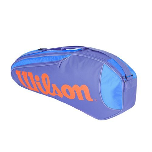 Wilson Burn Team Rush Racket Bag 3 Pack - Blue