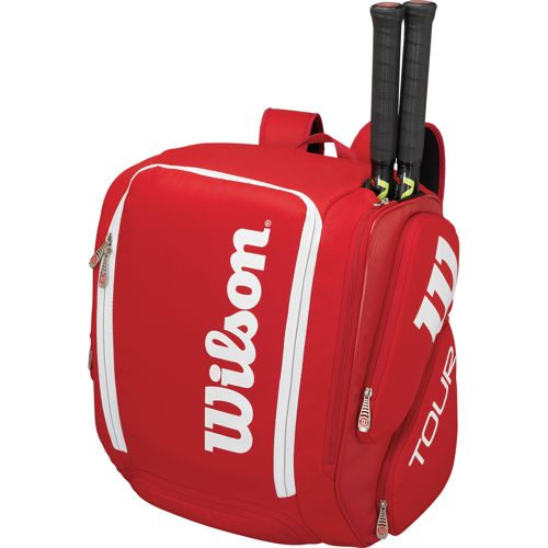Wilson Tour V Backpack XL - Red