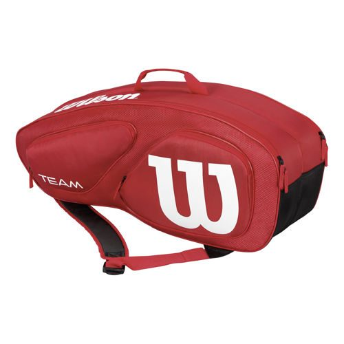 Wilson Tour Team II Racket Bag 9 Pack - Red