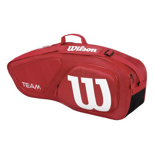 Wilson Team II Racket Bag 3 Pack - Red