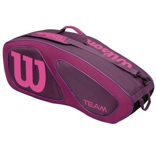 Wilson Tour Team II Racket Bag 6 Pack - Pink