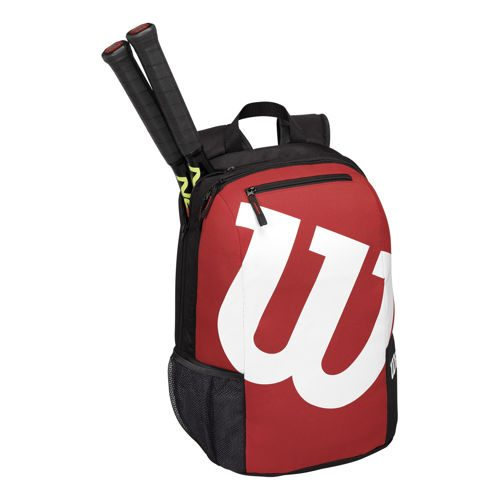 Wilson Match II Backpack Backpack - Red, Black