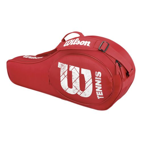 Wilson Match Racketbag Racket Bag 3 Pack - Red