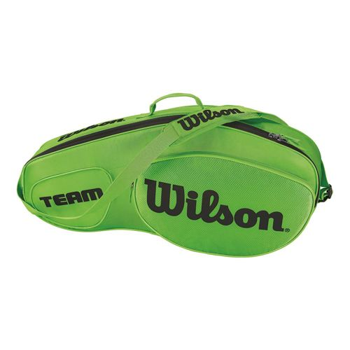 Wilson Team III Racket Bag 3 Pack - Green, Black