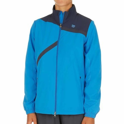 Wilson Rush Team Jacket Training Jacket Women - Blue, Grey