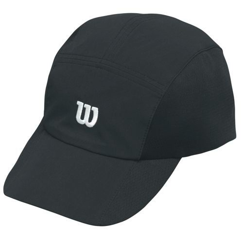 Wilson Rush Stretch Woven Cap - Black