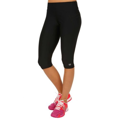 Wilson Core Performance Rush Capri Capri Pants Women - Black