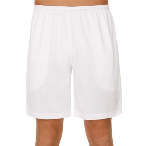 "Wilson Nvision Elite 9 Knit "" Shorts Men - White"