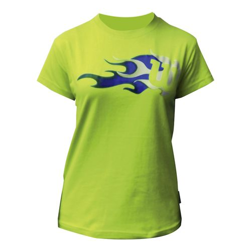 Wilson JR Flame T-Shirt Boys - Light Green, Blue