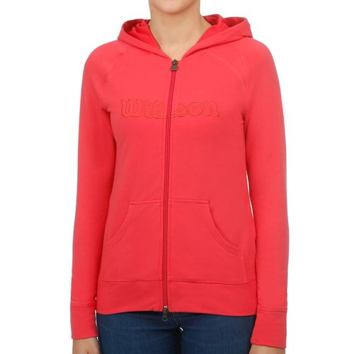 Wilson Full Zip Hoody Women - Pink, Orange
