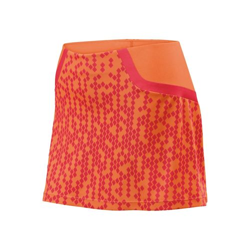 Wilson Solana Pixel Skirt Women - Coral, Orange