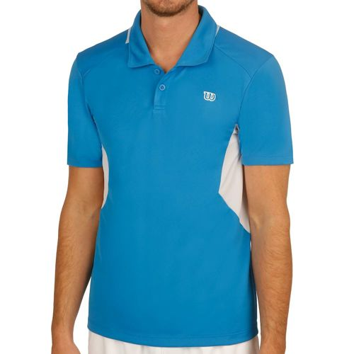 Wilson Great Get Polo Men - Blue