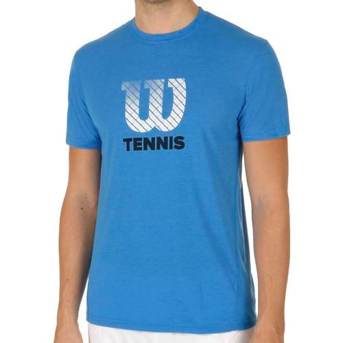 Wilson Graphic Tech T-Shirt Men - Blue
