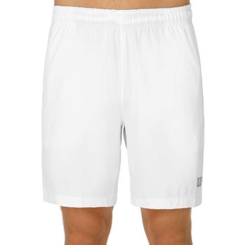 Wilson Late Summer Perspective Stretch Woven 8 Inch Shorts Men - White