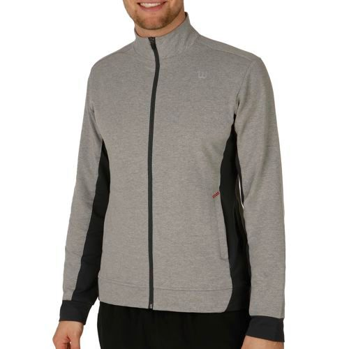 Wilson Rush Knit Jacket Training Jacket Men - Grey