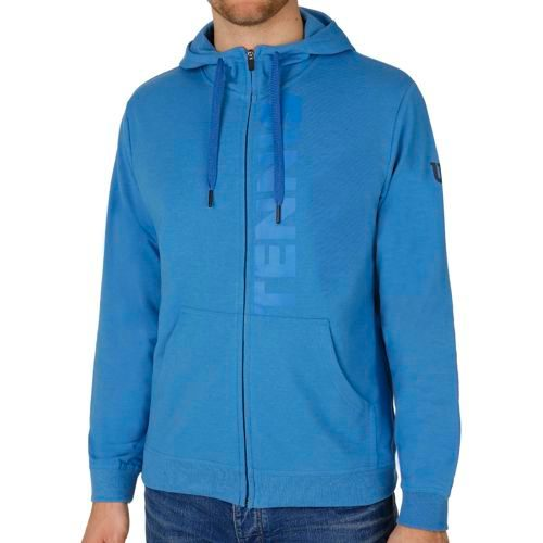 Wilson Full Zip Zip Hoodie Men - Blue