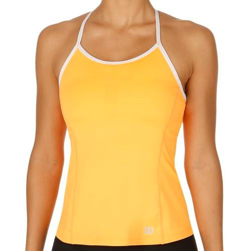 Wilson Strappy Tank Top Women - Orange