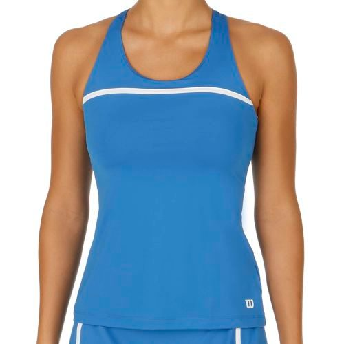 Wilson Team Tank Top Women - Blue, White