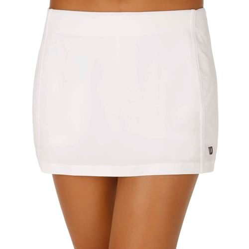 "Wilson Team 12.5"" Skirt Women - White, Black"
