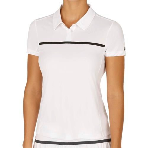 Wilson Team Polo Women - White, Black