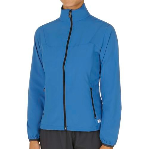 Wilson Team Woven Training Jacket Women - Blue, Coral