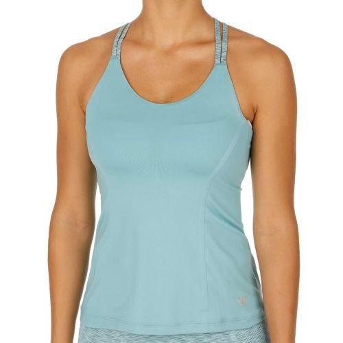 Wilson Double Strap Tank Top Women - Turquoise