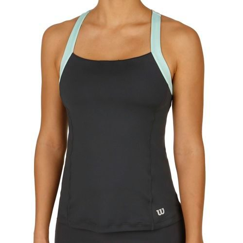 Wilson Summer Strappy Tank Top Women - Anthracite