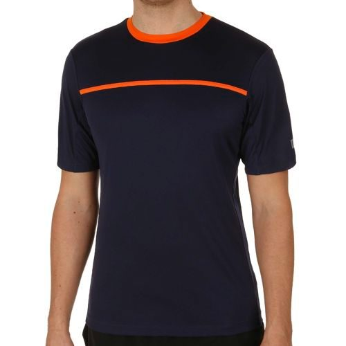 Wilson Team Crew T-Shirt Men - Dark Blue