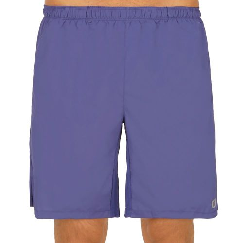 Wilson Rush 9 Woven Shorts Men - Violet