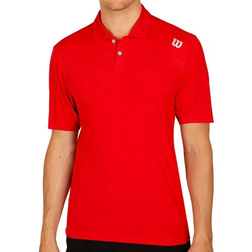 Wilson Textured Polo Men - Red