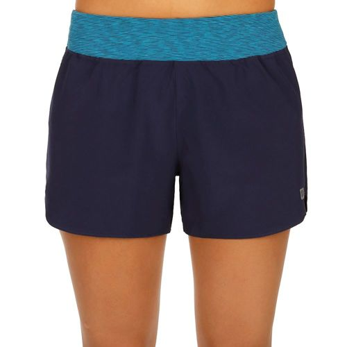 Wilson Sporty 3 Inch Inseam Shorts Women - Dark Blue, Turquoise
