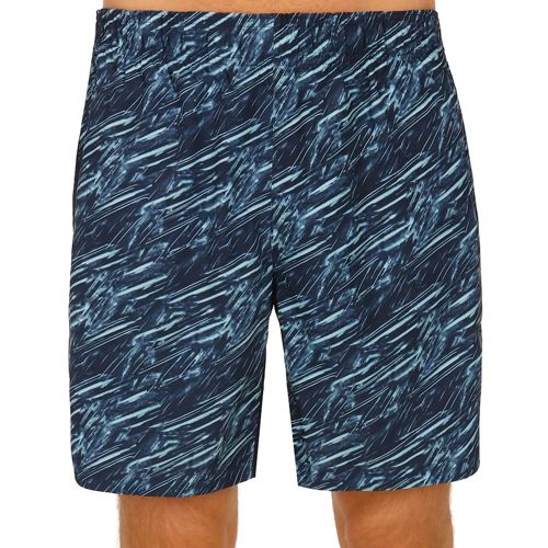 Wilson 8 Inch Print Shorts Men - Dark Blue, Turquoise