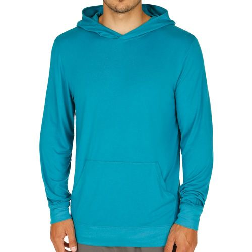 Wilson Condition Cover-Up Hoody Men - Turquoise